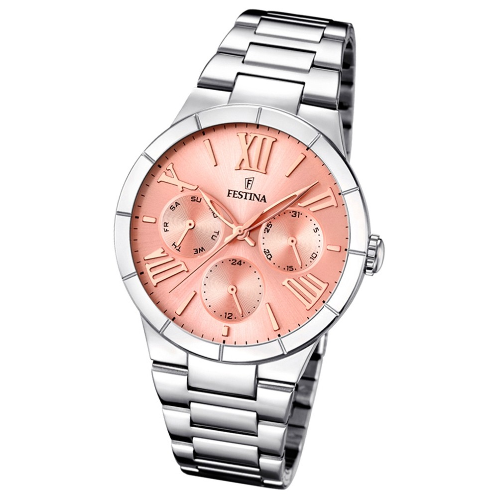 FESTINA Damen-Armbanduhr Mademoiselle analog Quarz Edelstahl UF16716/3