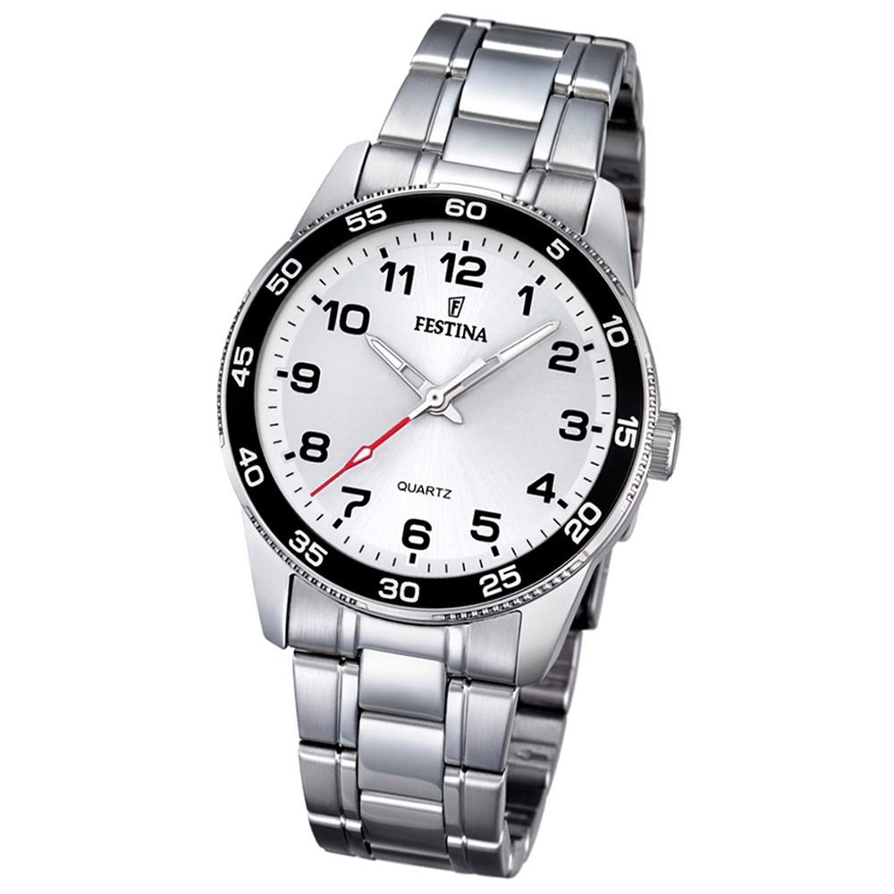 Festina Kinder Jugend-Uhr Junior Collection analog Quarz Edelstahl UF16905/1