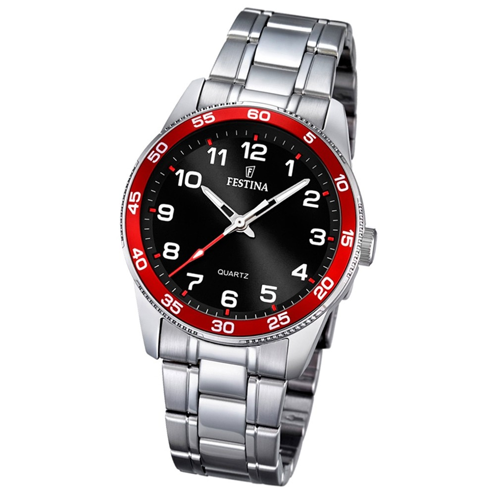 Festina Kinder Jugend-Uhr Junior Collection analog Quarz Edelstahl UF16905/3