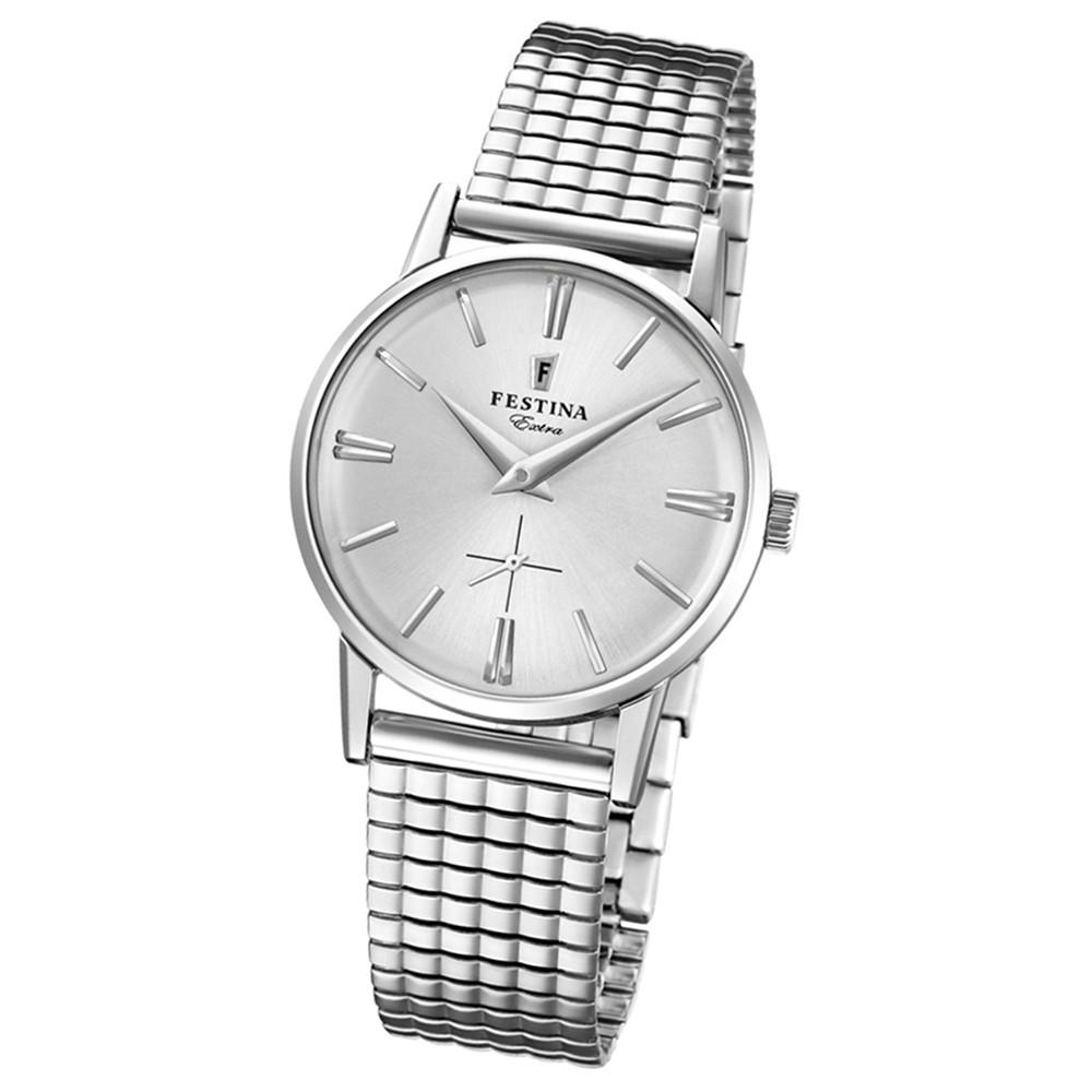 FESTINA Damen-Uhr Extra Kollektion F20256/1 Quarz Edelstahl silber UF20256/1