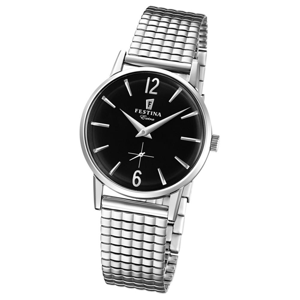 FESTINA Damen-Uhr Extra Kollektion F20256/4 Quarz Edelstahl silber UF20256/4