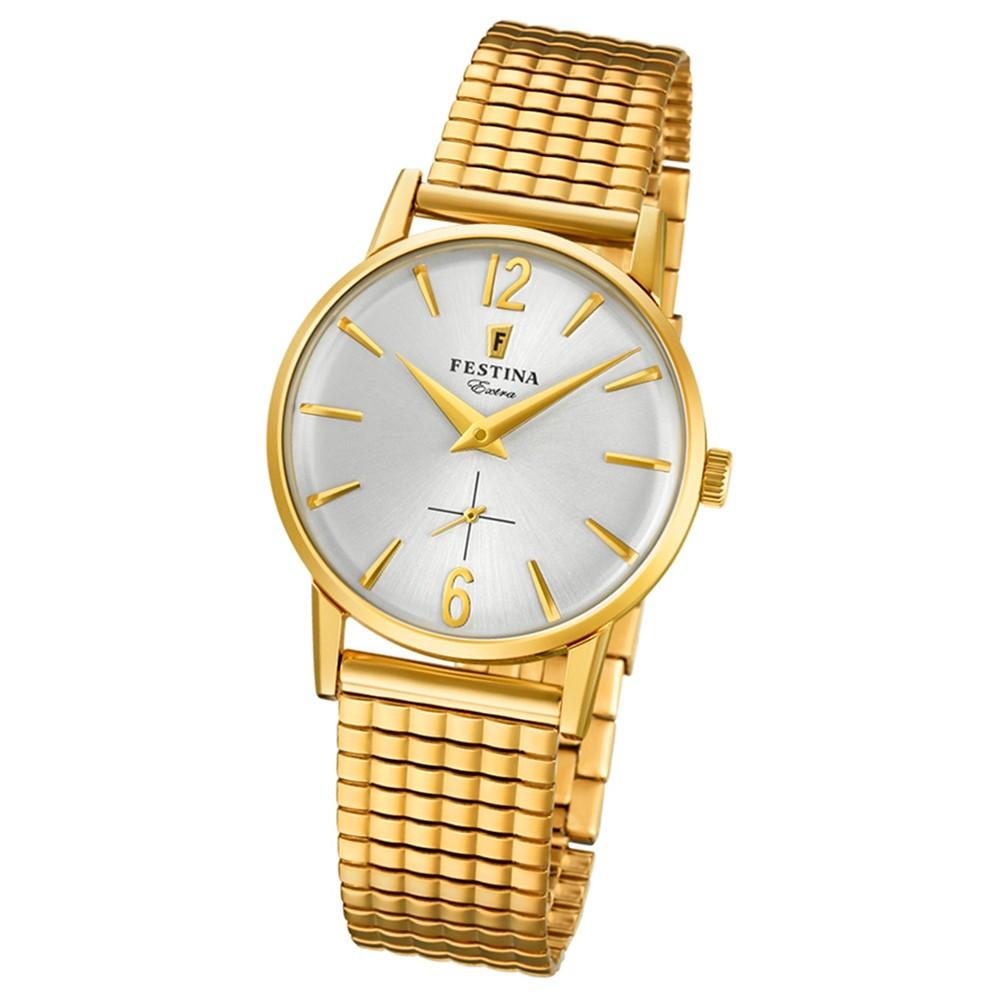 FESTINA Damen-Uhr Extra Kollektion F20257/1 Quarz Edelstahl gold UF20257/1