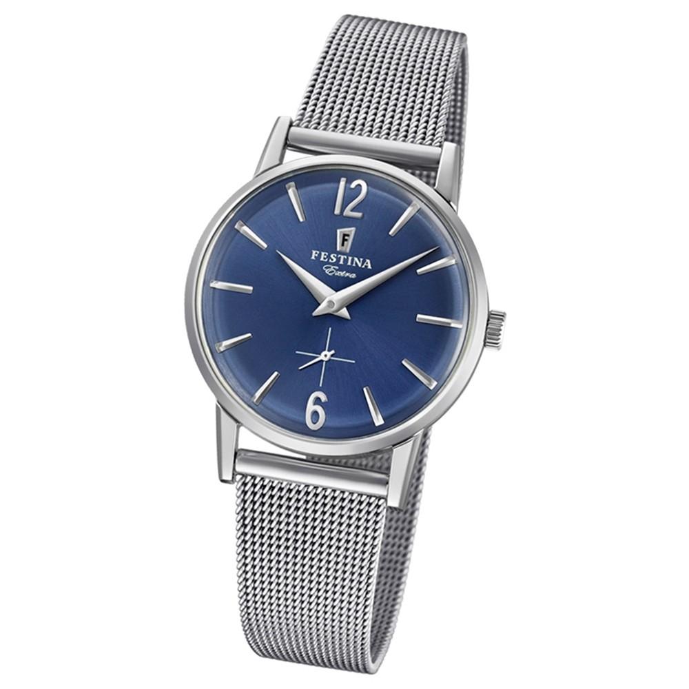 FESTINA Damen-Uhr Extra Kollektion F20258/3 Quarz Edelstahl silber UF20258/3