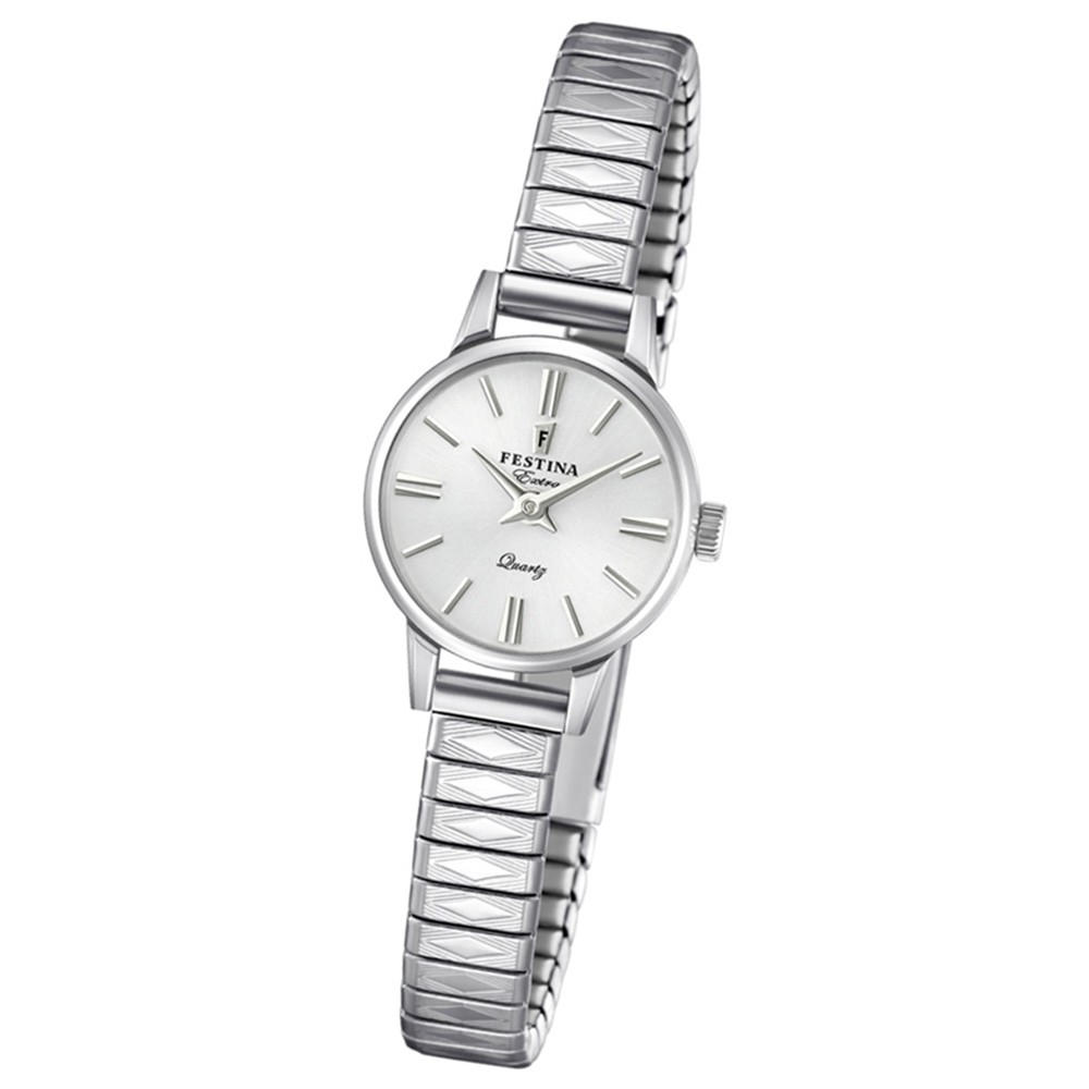 FESTINA Damen-Uhr Extra Kollektion F20262/1 Quarz Edelstahl silber UF20262/1