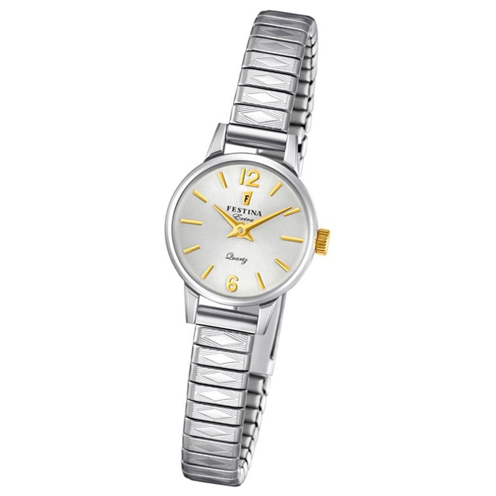 FESTINA Damen-Uhr Extra Kollektion F20262/2 Quarz Edelstahl silber UF20262/2
