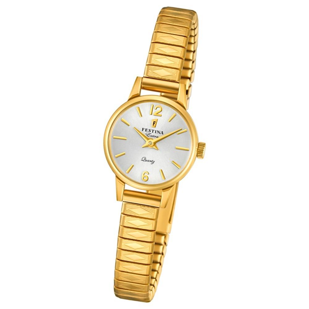 FESTINA Damen-Uhr Extra Kollektion F20263/1 Quarz Edelstahl gold UF20263/1