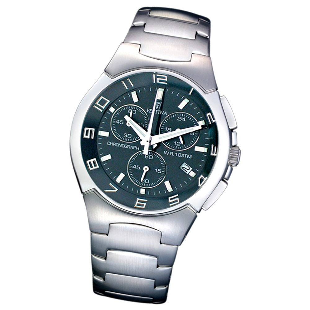 FESTINA Herren-Armbanduhr analog Quarz Edelstahl UF6698/2