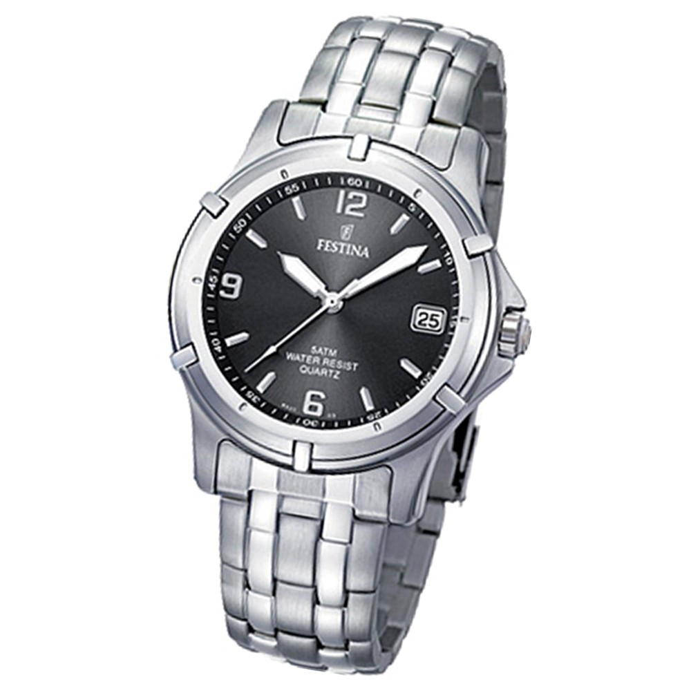 FESTINA Herren-Armbanduhr analog Klassik Quarz Edelstahl UF8920/2