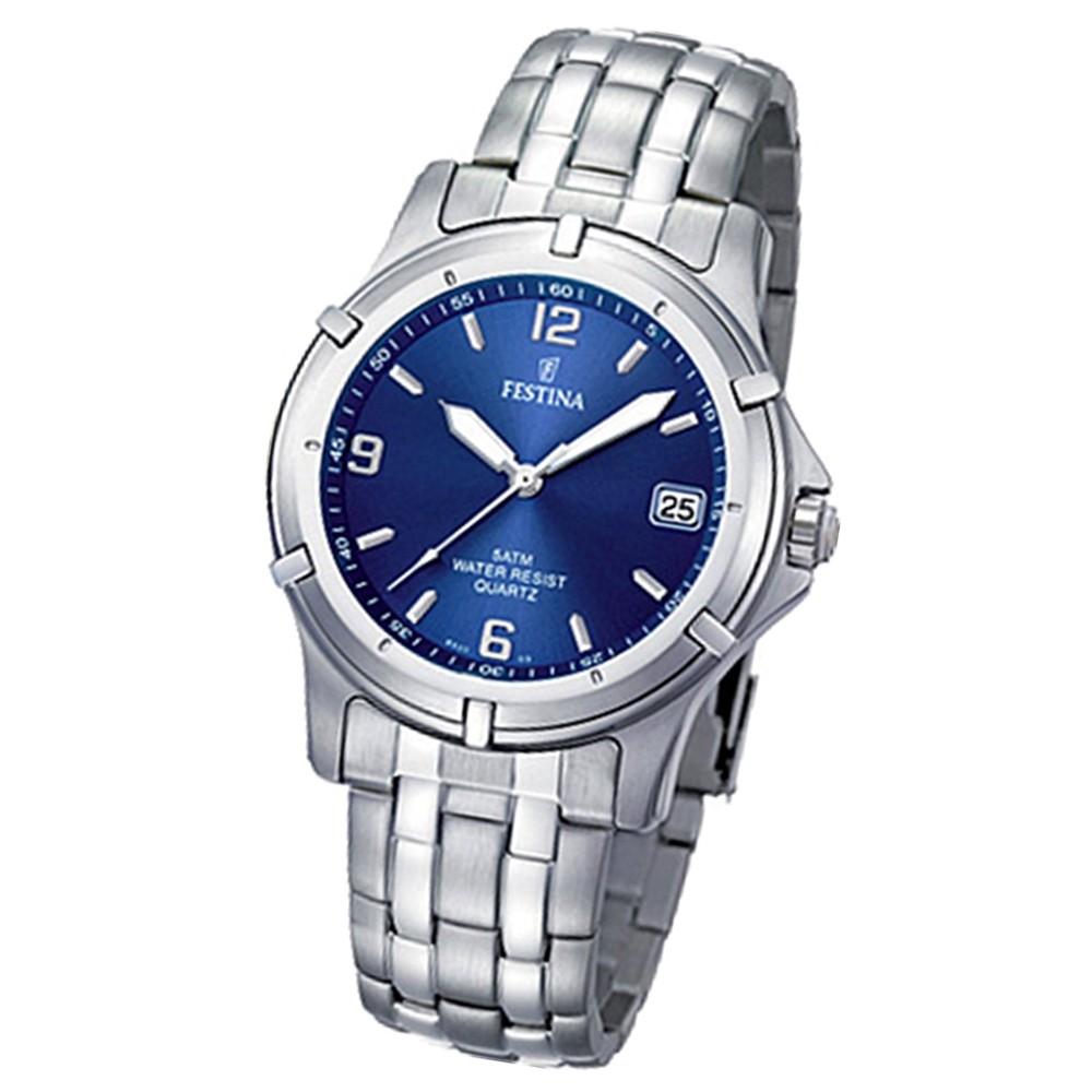 FESTINA Herren-Armbanduhr analog Klassik Quarz Edelstahl UF8920/3