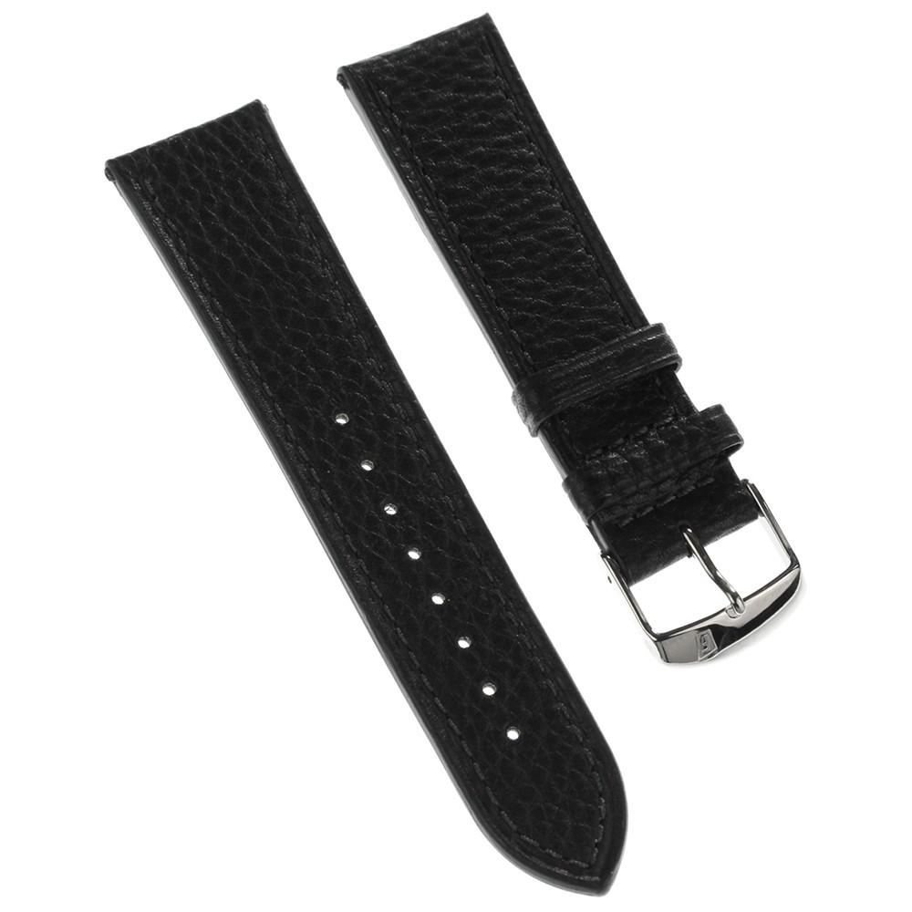 Festina Herren Uhrenarmband 24mm Leder-Band schwarz für Festina F16784 F16783 UFA16784/S