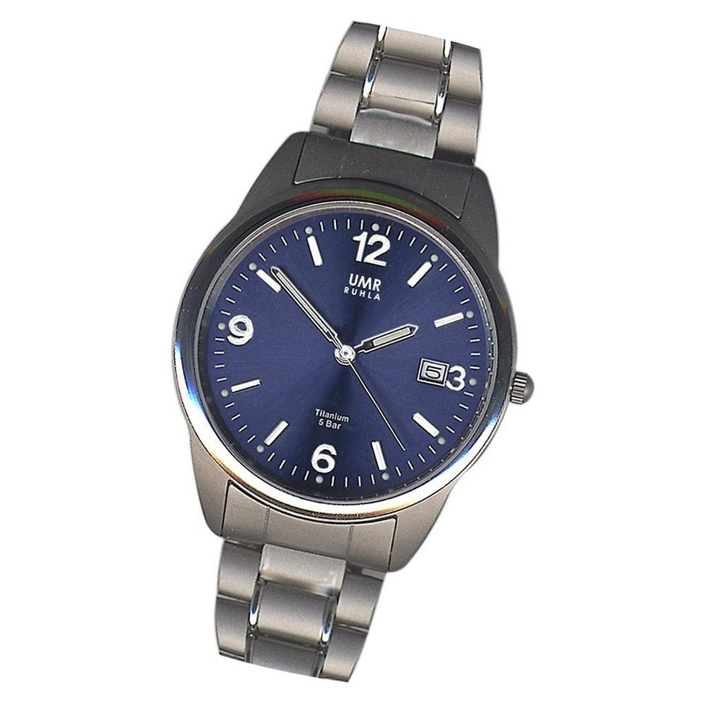 GARDE Herren Armbanduhr Quarzuhr Elegance 1310-4 Titan-Armband Uhr UGA13104