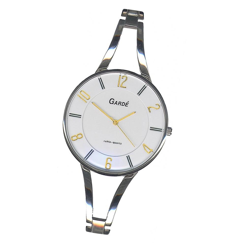 GARDE Damen-Uhr Quarzuhr Elegance 21119 Edelstahl-Armbanduhr UGA21119