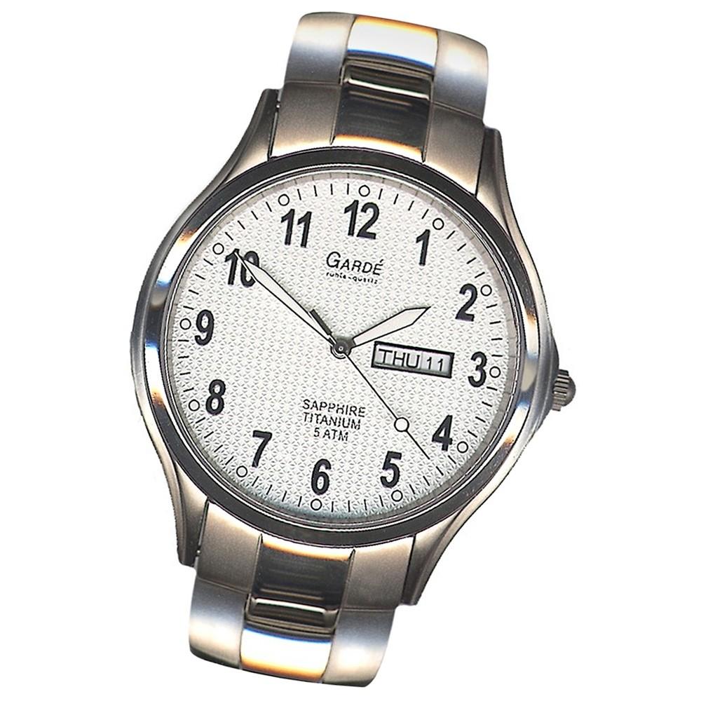 Garde Elegance Quarzuhr Uga90402 Uhr Herren Titan Armbanduhr 90402 KlJTFc1