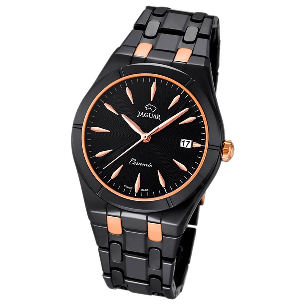JAGUAR Damen-Armbanduhr Daily Classic Saphirglas Quarz Keramik schwarz UJ676/4
