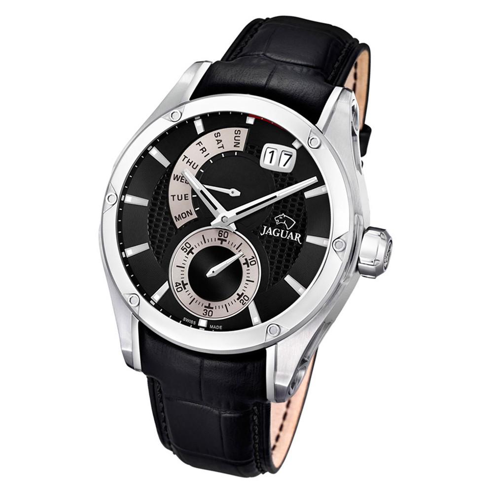 Jaguar Herren-Armbanduhr Leder schwarz J678/B Saphir Special Edition UJ678/B