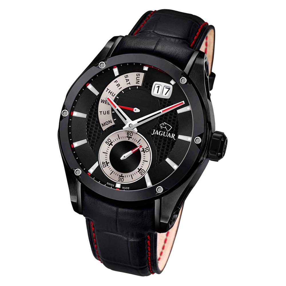 Jaguar Herren-Armbanduhr Leder schwarz J681/B Saphir Special Edition UJ681/B