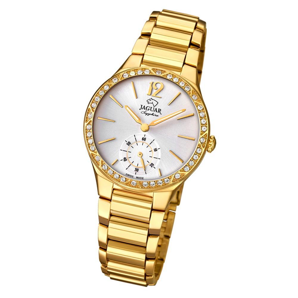 Jaguar Damen-Armbanduhr Edelstahl gold J818/1 Saphir Cosmopolitan UJ818/1
