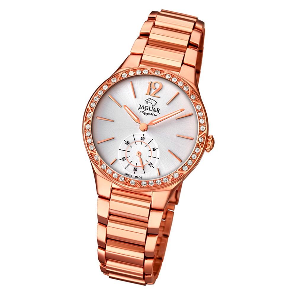 Jaguar Damen-Armbanduhr Edelstahl rosé J819/1 Saphir Cosmopolitan UJ819/1