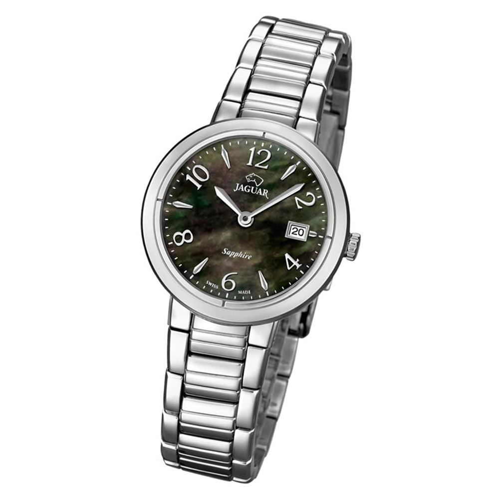 Jaguar Damen-Armbanduhr Edelstahl silber J823/2 Saphir Cosmopolitan UJ823/2