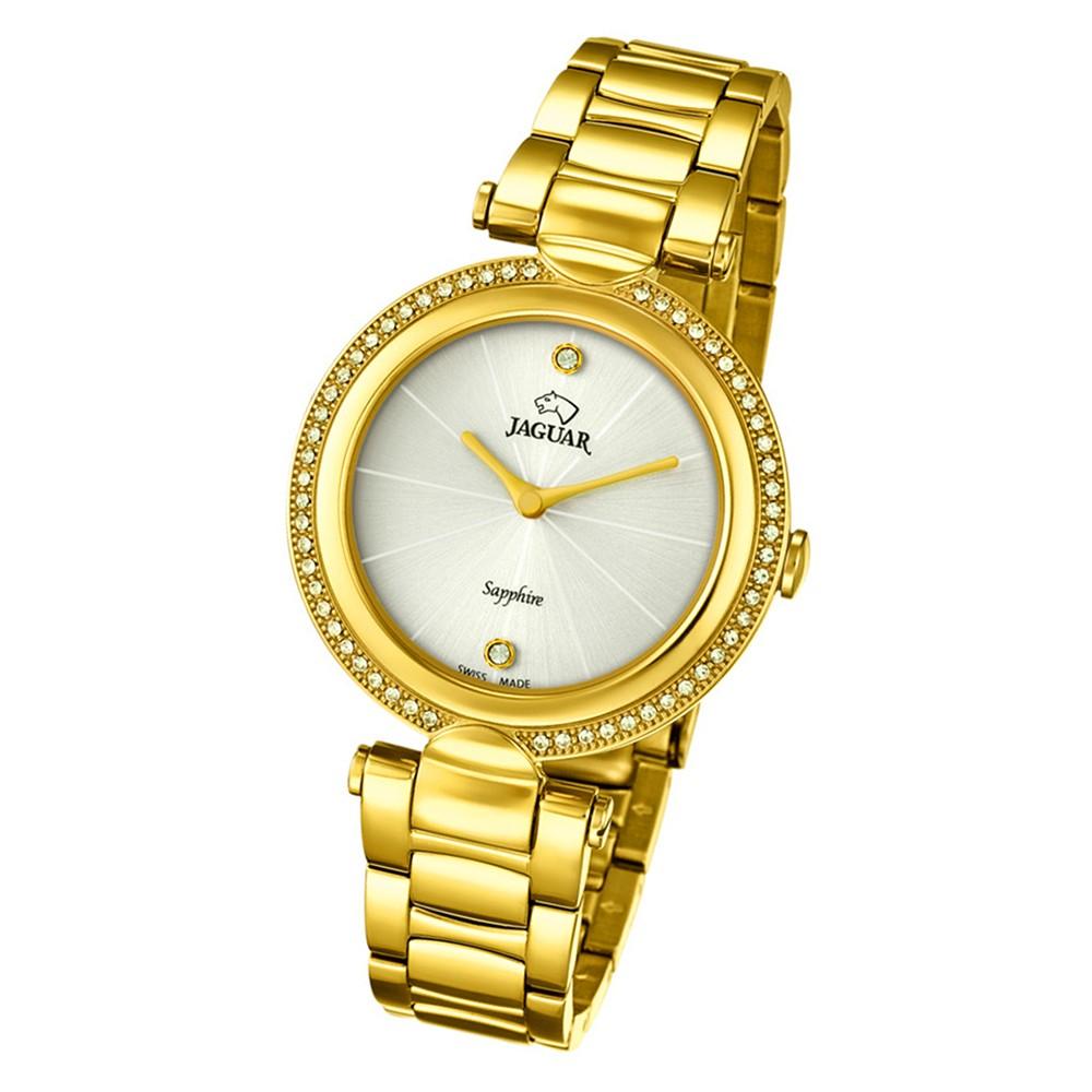 Jaguar Damen-Armbanduhr Edelstahl gold J830/1 Saphir Cosmopolitan UJ830/1