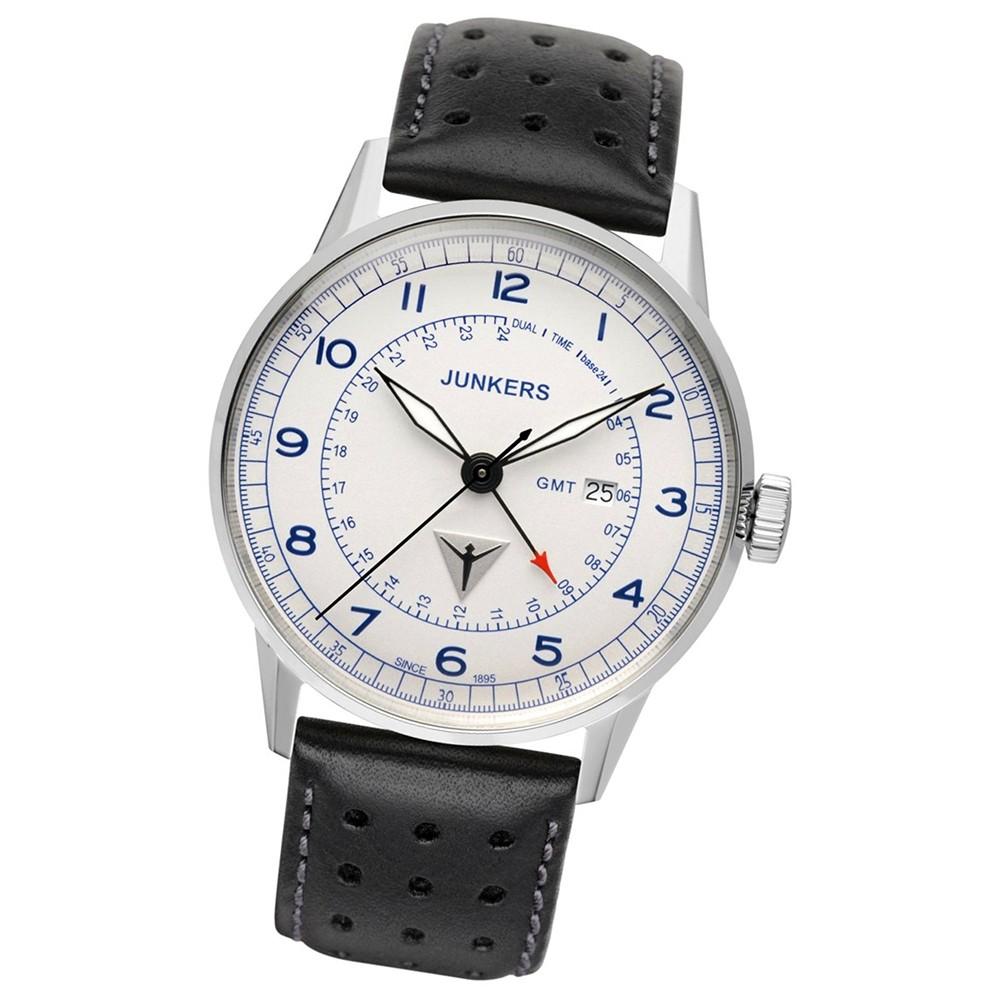 JUNKERS Herren-Uhr Quarzuhr Inspiration G38 6946-3 Leder-Armbanduhr UJU6946/3