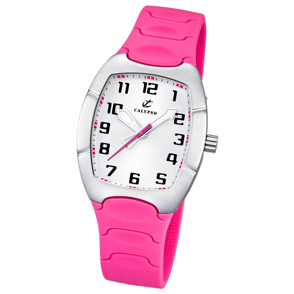 CALYPSO Damen-Uhr - Trend - Analog - Quarz - PU - UK5161/D