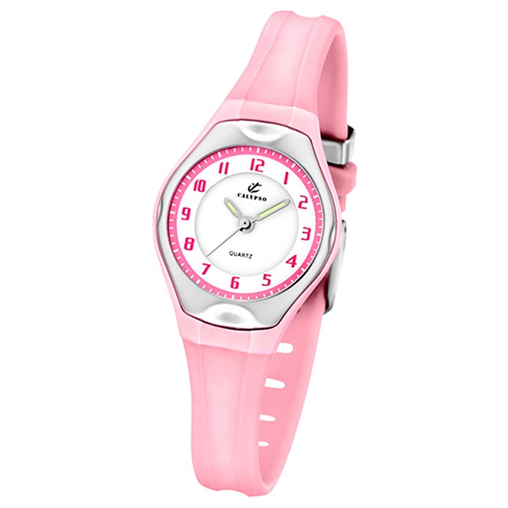 Calypso Jugenduhr Mädchen rosa Analog Calypso Uhren Kollektion UK5163/L