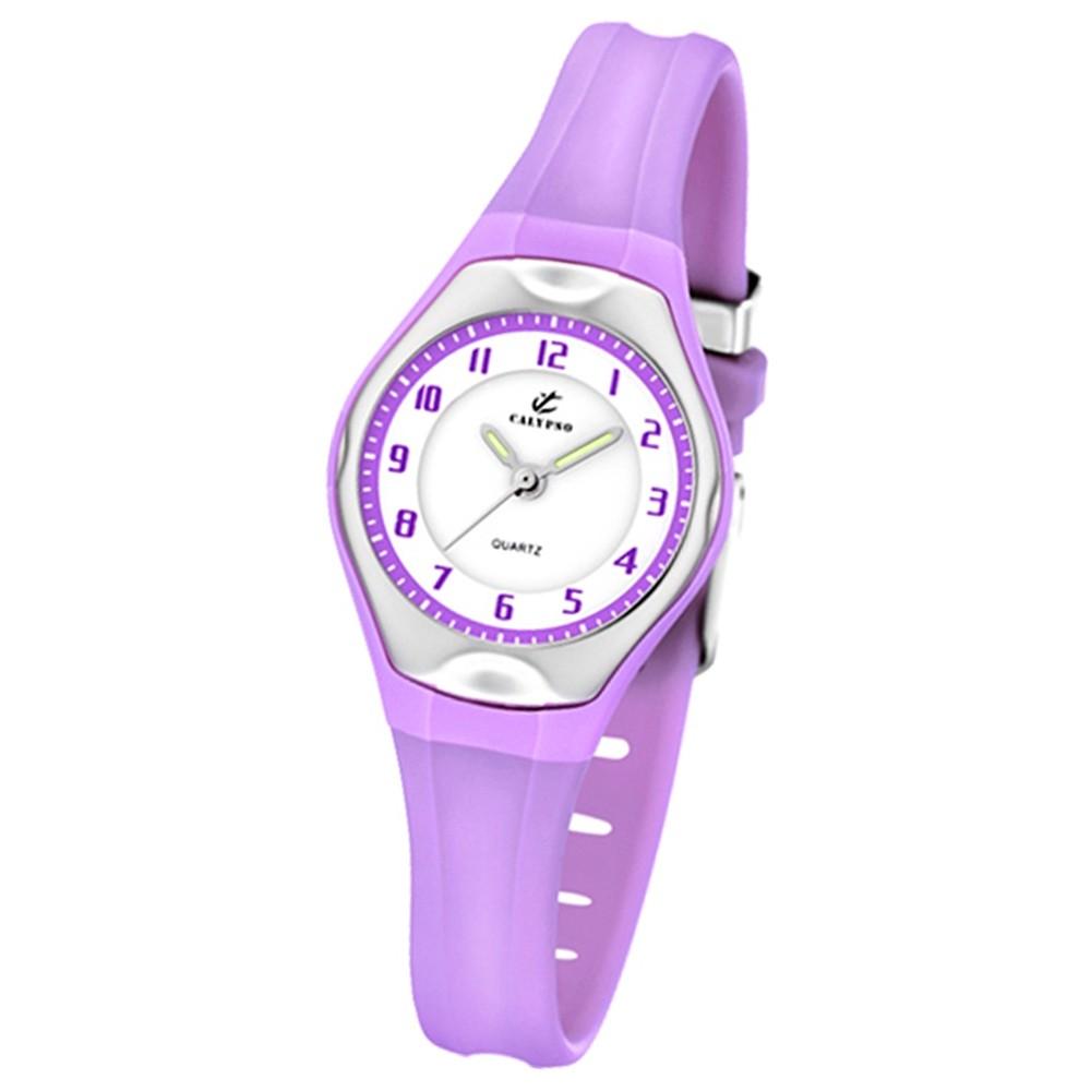 Calypso Jugenduhr Mädchen lila Analog Calypso Uhren Kollektion UK5163/N