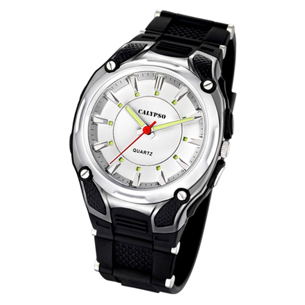 Calypso Herrenuhr schwarz Analog Calypso Uhren Kollektion UK5560/1