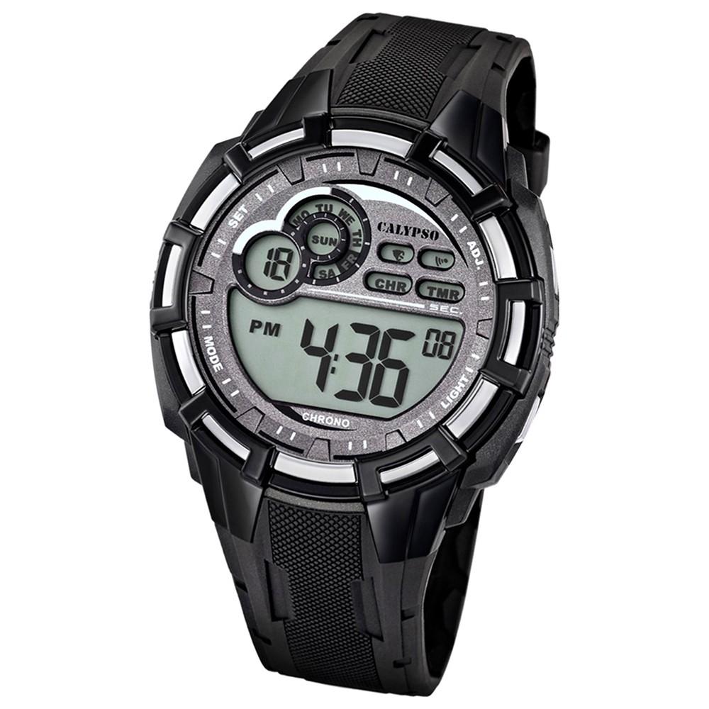 Calypso Herren-Armbanduhr Multifunktion digital Quarz PU UK5625/1