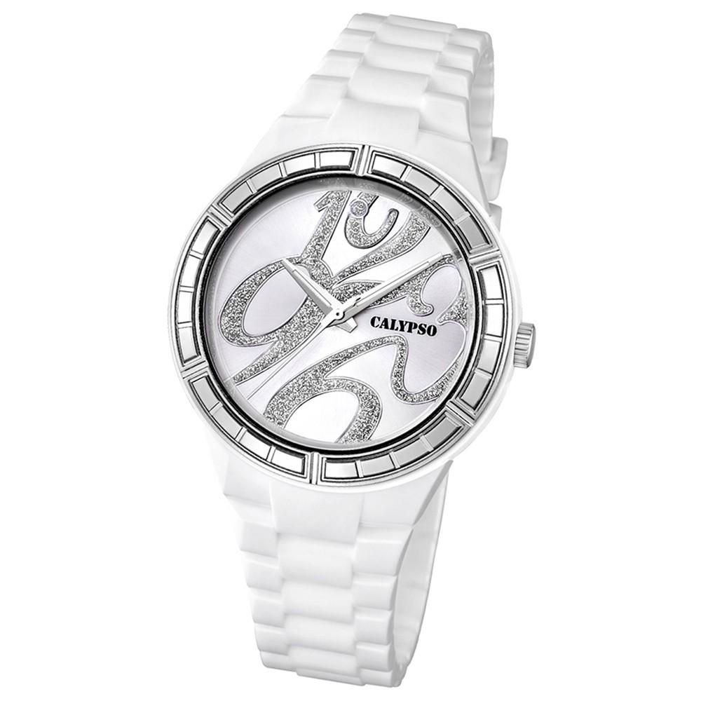 Calypso Damen-Armbanduhr Trend analog Quarz PU UK5632/1