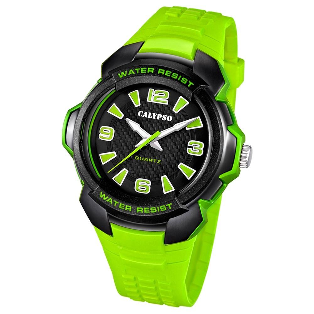 Calypso Herren-Armbanduhr Trend analog Quarz PU UK5635/3