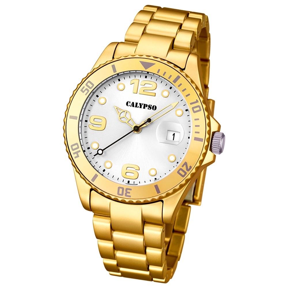 CALYPSO Damen Herren Uhr - Trend - Analog - Quarz - Kunststoff - UK5646/2