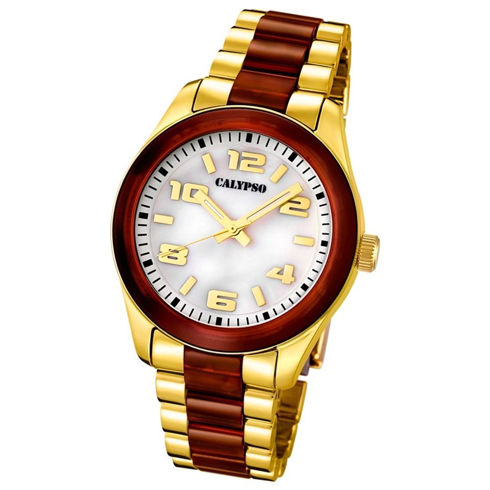 CALYPSO Damen-Uhr - Trend - Analog - Quarz - Kunststoff - UK5648/2