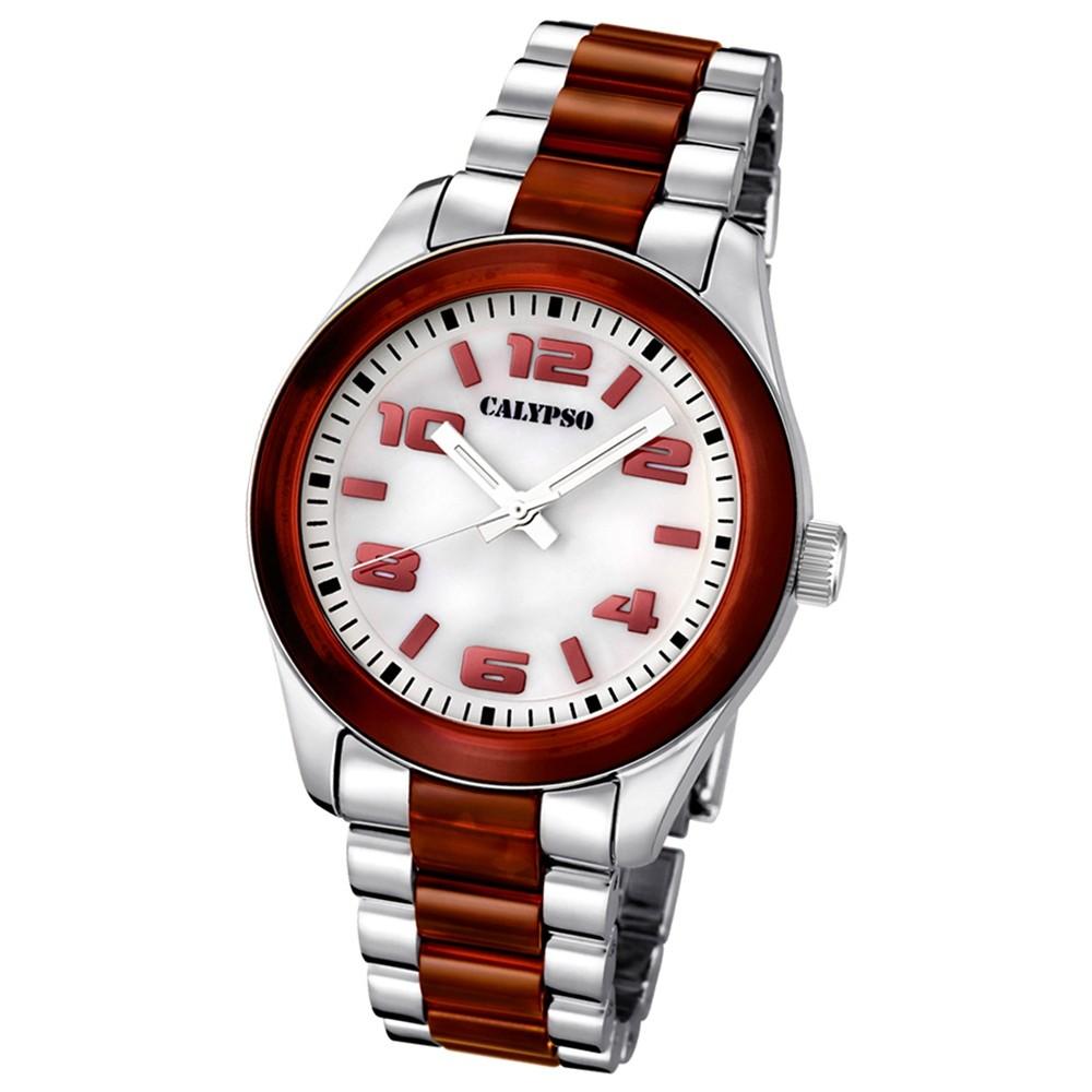 CALYPSO Damen-Uhr - Trend - Analog - Quarz - Kunststoff - UK5648/4