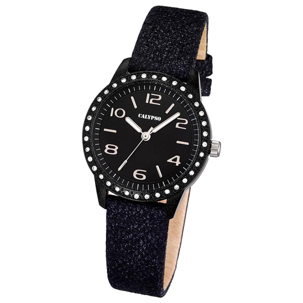 CALYPSO Damen-Uhr - Trend - Analog - Quarz - Leder - UK5652/4