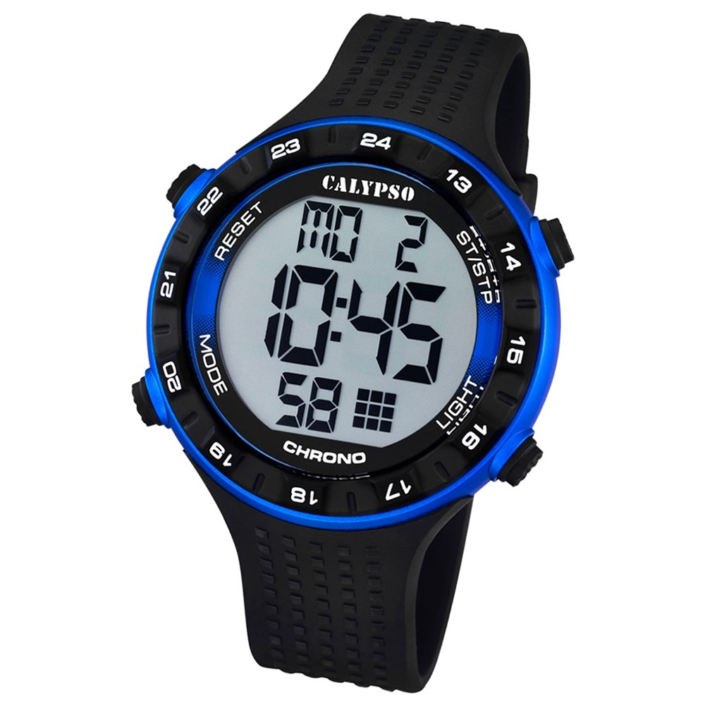 CALYPSO Herren-Uhr - Sport - digital - Quarz - PU - UK5663/2