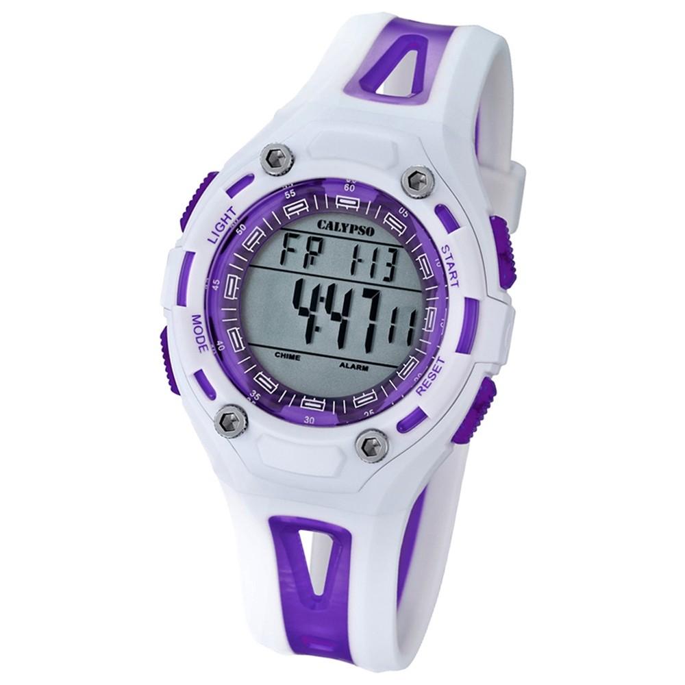 CALYPSO Kinder-Uhr - Inhorgenta - digital - Quarz - PU - UK5666/2