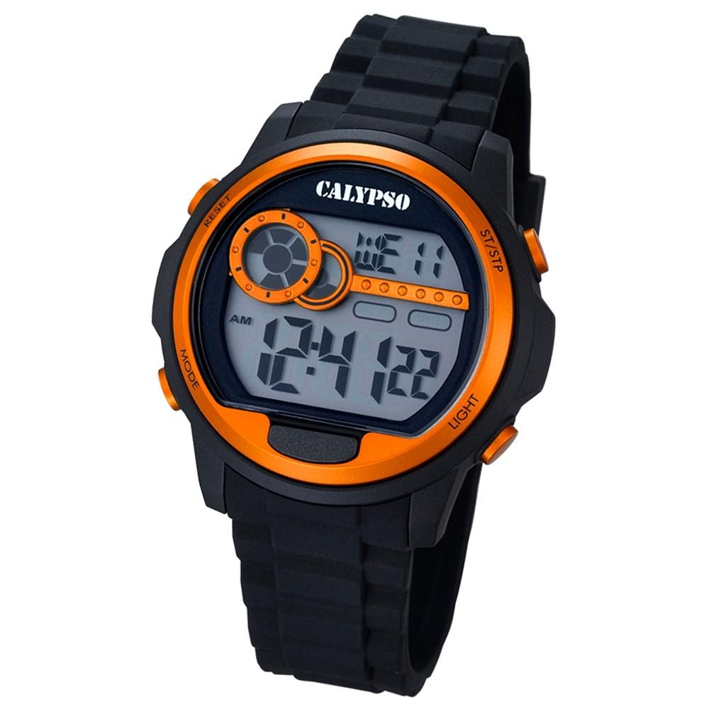 CALYPSO Herren-Uhr - Digital for Man - digital - Quarz - PU - UK5667/4
