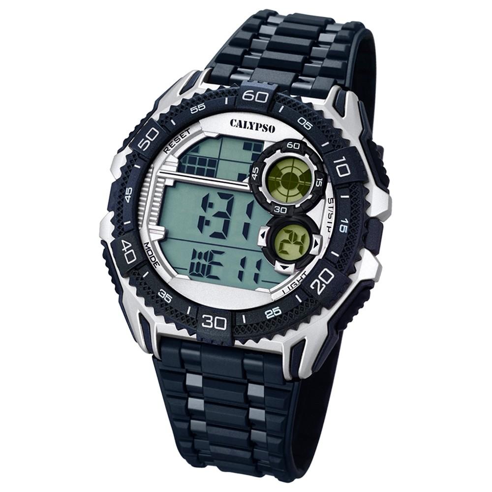 CALYPSO Herren-Uhr - Digital for Man - digital - Quarz - PU - UK5670/1