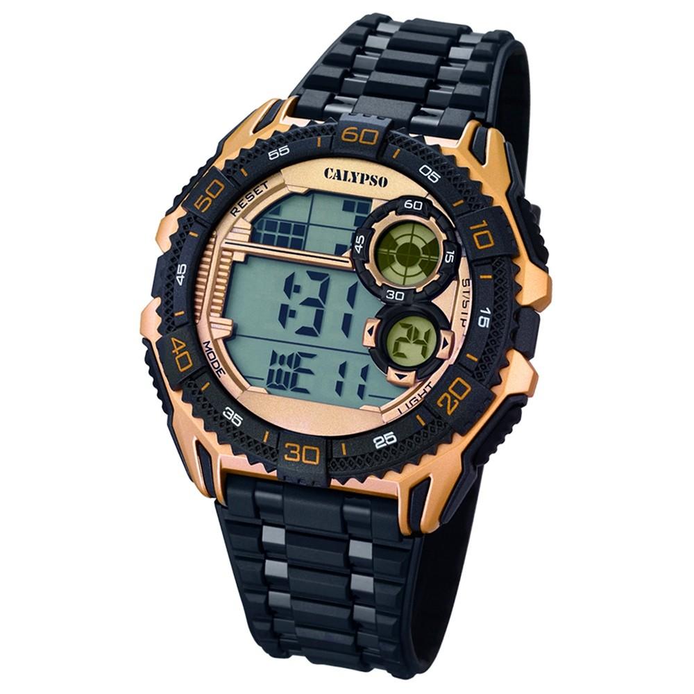 CALYPSO Herren-Uhr - Digital for Man - digital - Quarz - PU - UK5670/2