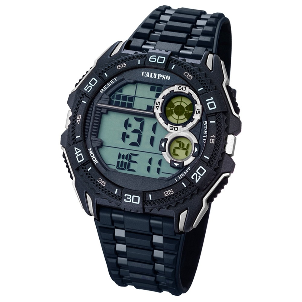 CALYPSO Herren-Uhr - Digital for Man - digital - Quarz - PU - UK5670/4