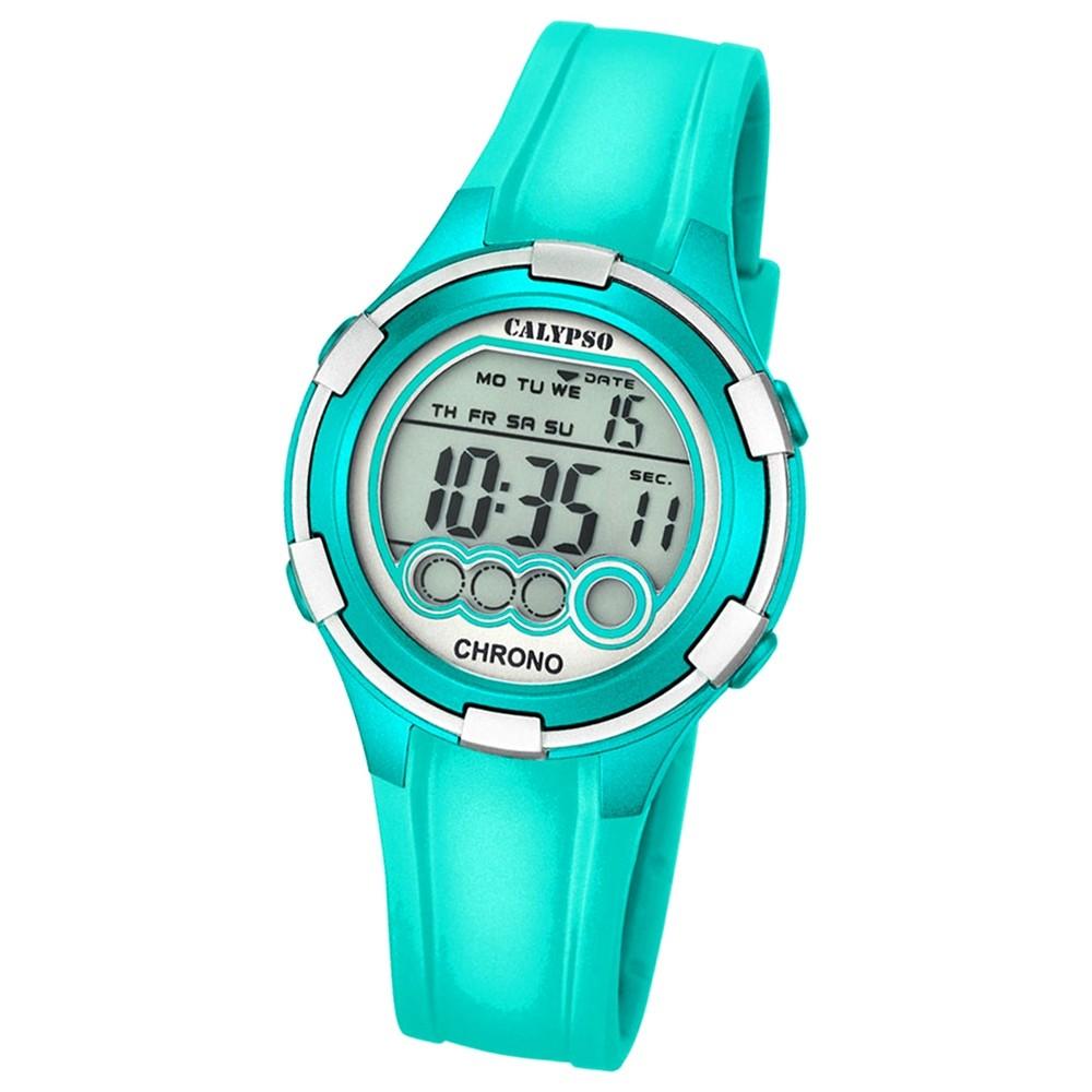 Calypso Damen-Armbanduhr Digital for Woman digital Quarz PU türkis UK5692/7
