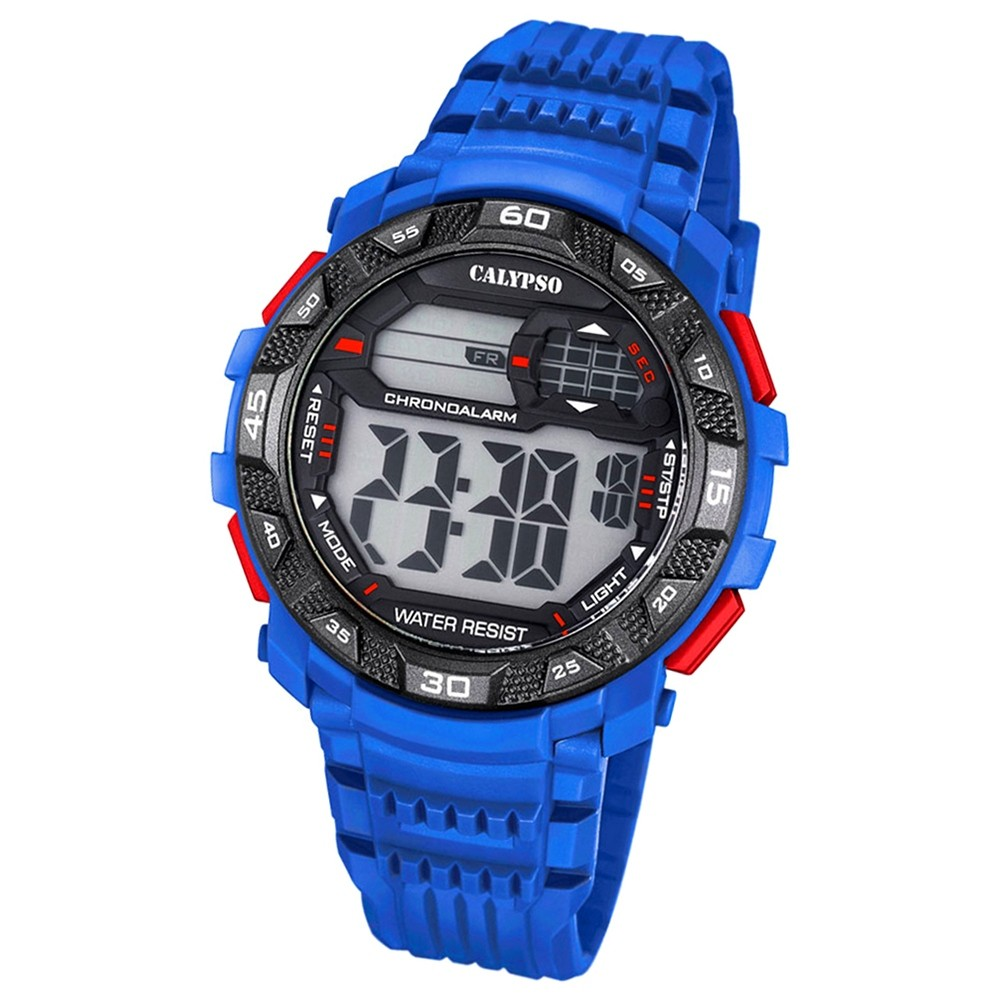 Calypso Herren-Armbanduhr Digital for Man digital Quarz PU blau UK5702/2