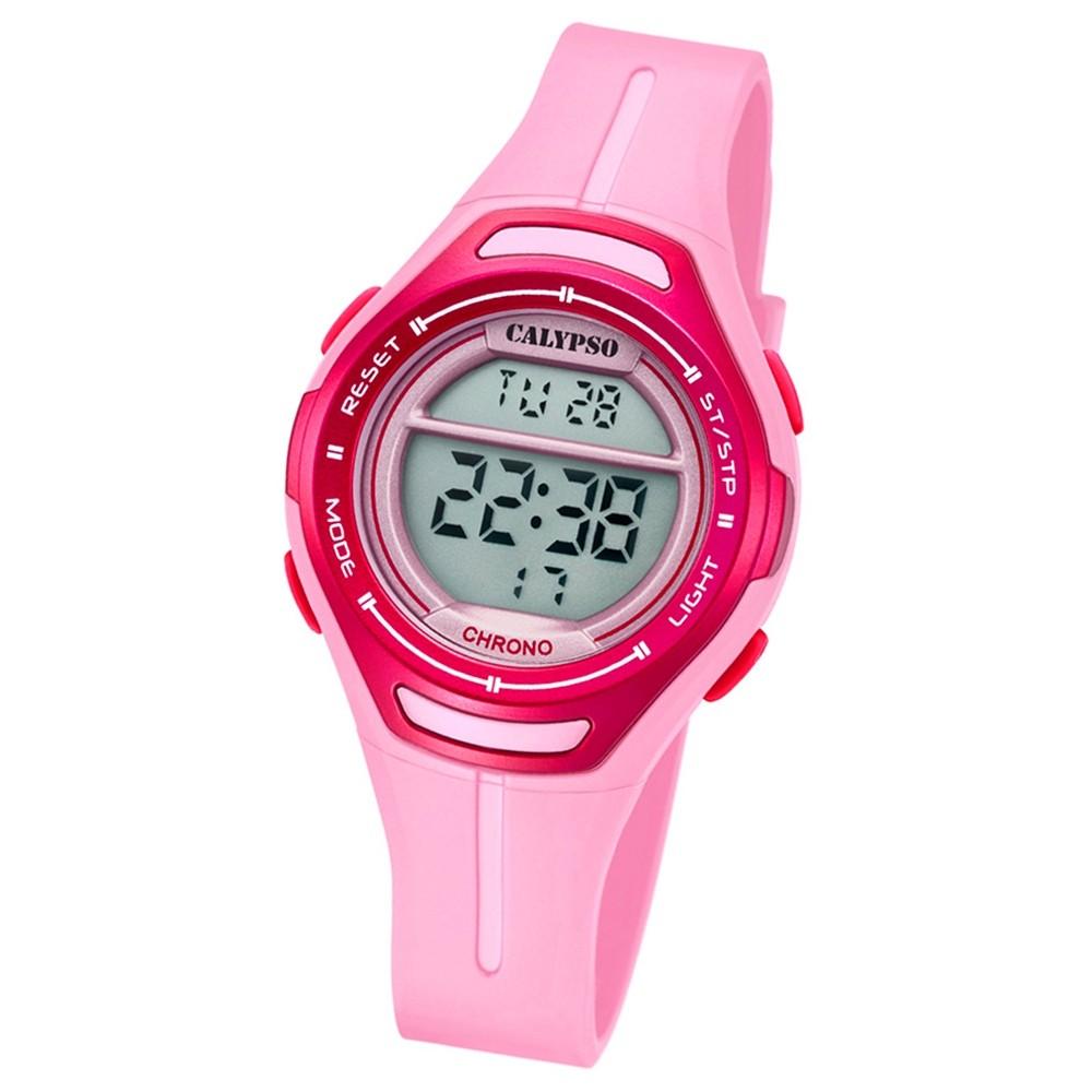 Calypso Armbanduhr Damen K5727/2 Quarzuhr PU rosa UK5727/2