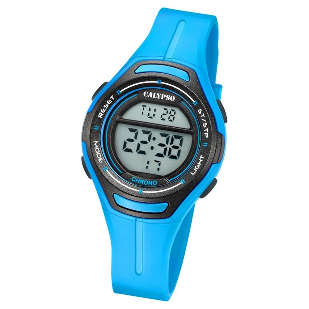 Calypso Armbanduhr Damen K5727/4 Quarzuhr PU blau UK5727/4