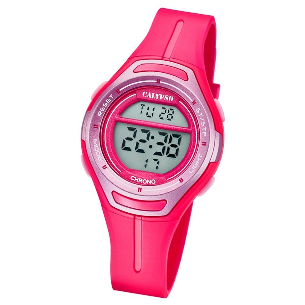 Calypso Armbanduhr Damen K5727/5 Quarzuhr PU pink UK5727/5