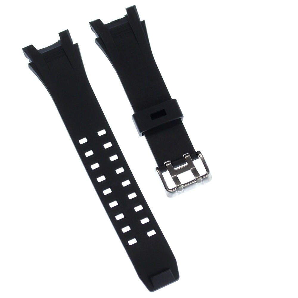 Calypso Herren Uhrenarmband 21mm Kautschuk-Band schwarz für Calypso K5619 UKA5619/S
