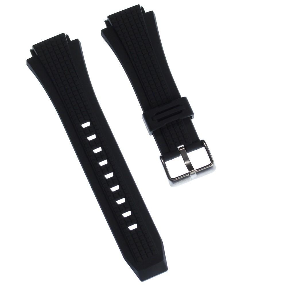 Calypso Herren Uhrenarmband 20mm PU-Band schwarz für Calypso K5629 UKA5629/S