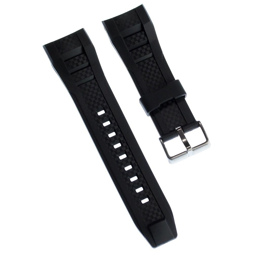 Calypso Herren Uhrenarmband 26mm PU-Band schwarz für Calypso K5699 UKA5699/S